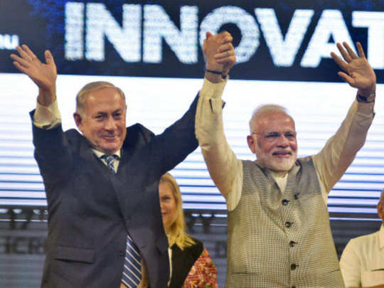 Netanyahu-and-Modi