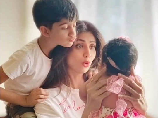 Shilpa Shetty on Daughters Day