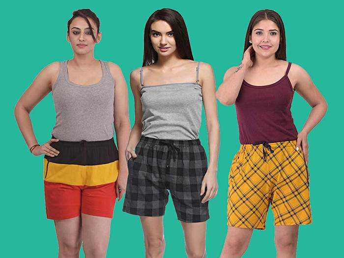 Womens Shorts : डेली यूज और कैजुअल वियर के लिए बेस्ट हैं ये Womens Shorts