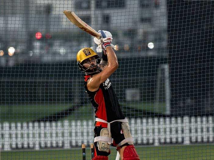 Virat Kohli Batting RCB Nets IPL 2020