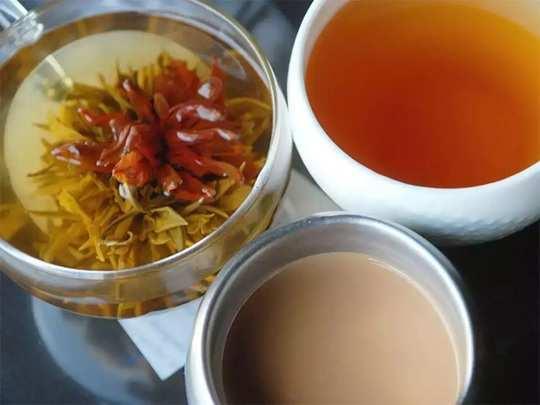 herbal tea types and health benefits in marathi