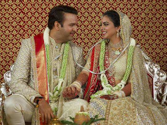 why isha ambani married with anand piramal in marathi