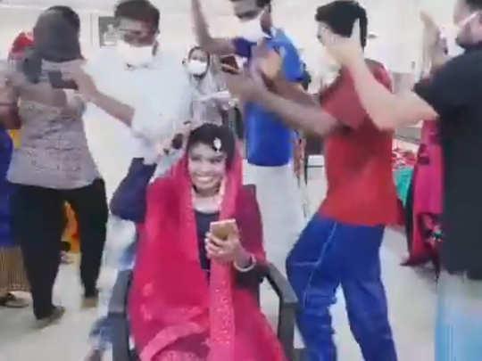 Woman Misses Nikah Patients Dance At Covid Ward