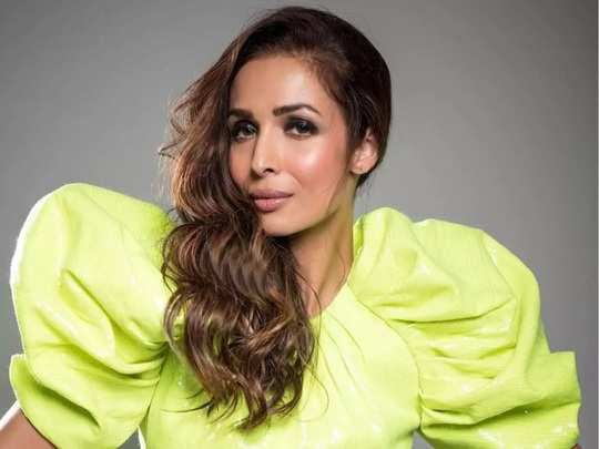 bollywood actress malaika arora was trolled for her stylish dress in marathi
