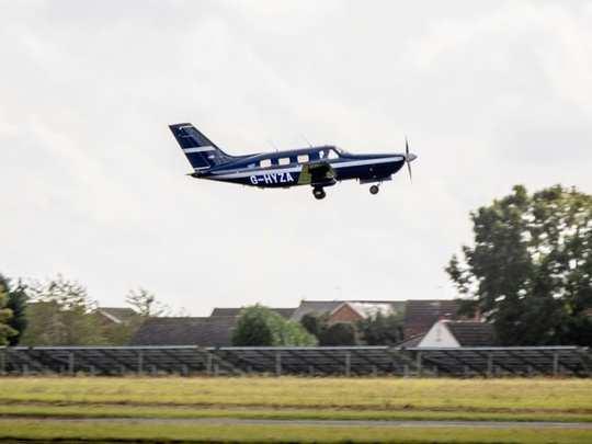 Hydrogen Powered Passenger Plane