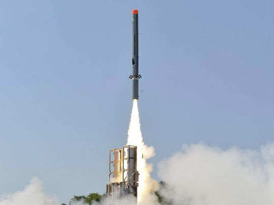 निर्भय मिसाइल सीमा पर तैनात