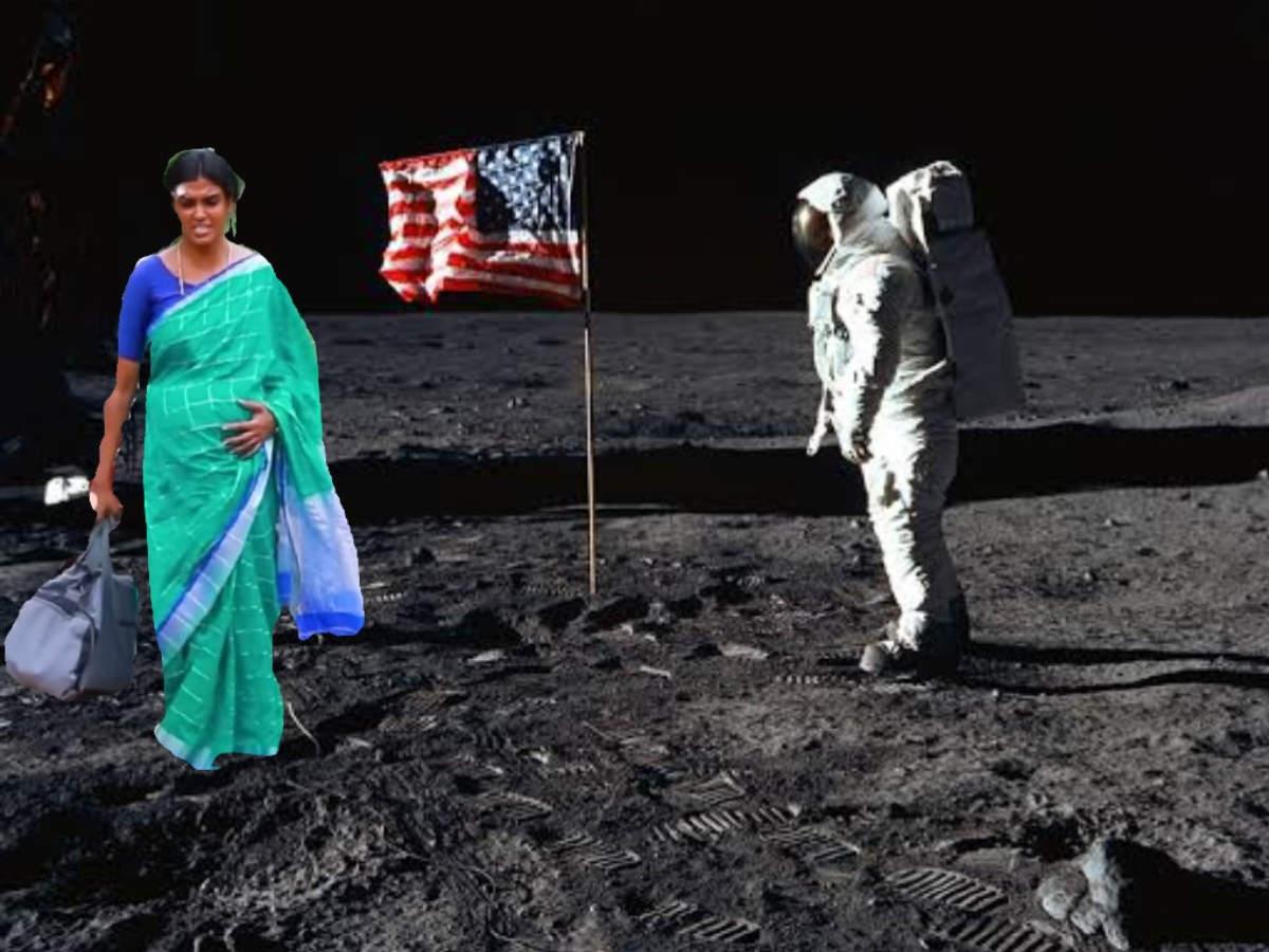 kannamma memes: என்னது கண்ணம்மா நடந்தே நிலாவுக்கு போயிட்டாளா - வச்சு  செய்யும் நெட்டிசன்ஸ் - kannamma walking memes rock internet | Samayam Tamil