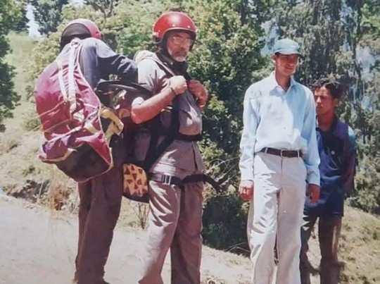 1997 में मोदी ने सीखी थी पैराग्लाइडिंग