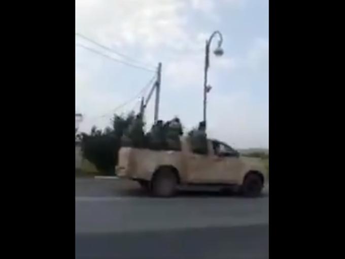 Syrian rebel fighters Azerbaijan