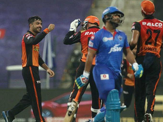 दिल्ली को हराकर हैदराबाद ने दर्ज की पहली जीत