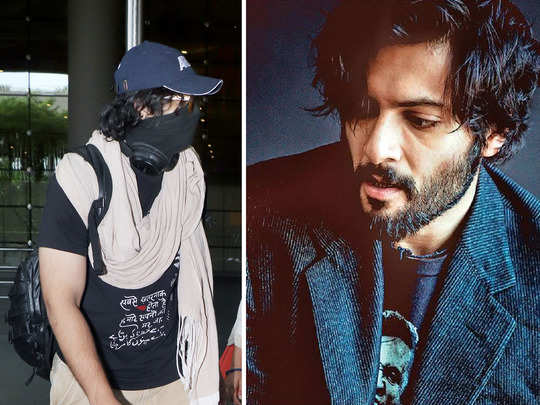 is bollywood actor ali fazal t shirt quote about dying dreams related to present scenario