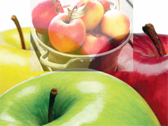 how many types of apple fruit and their taste and qualities