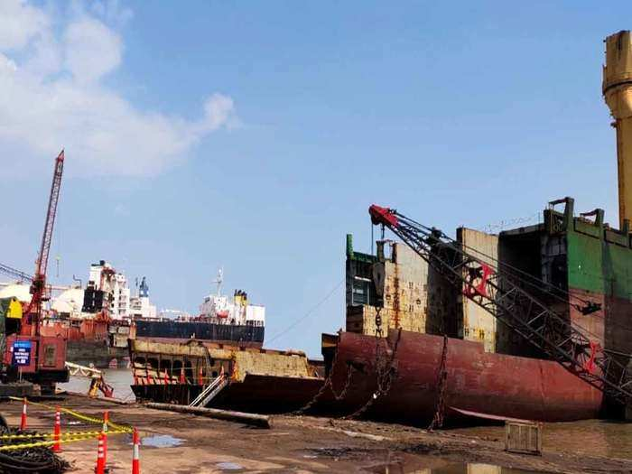 another attack on china, now preparations to pull ship breaking business