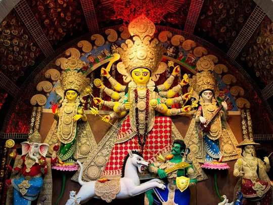 Navratri 2020 Durga Vahan