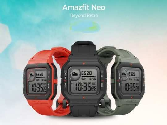 Amazfit Neo Retro Style Smartwatch Launched In India 6