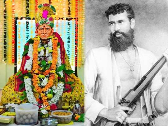 Swami samarth and vasudev balwant phadke