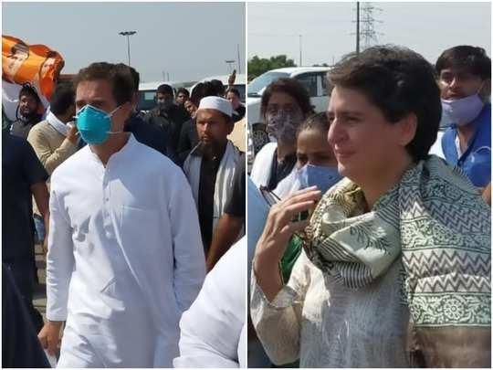 hathras rape case: rahul-priyanka gandhi will go to hathras, district administration prepares to stop at border