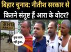 Bihar Election Public Opinion: राजद विधायक नवाज आलम और नीतीश सरकार से कितने संतुष्ट हैं आरा के वोटर?