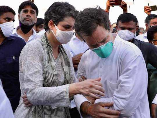 congress leader rahul gandhi being roughed up by uttar pradesh police at yamuna expressway