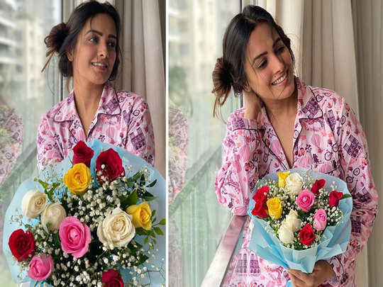 anita hassanandani got roses from husband after he does a bhool know why women love flowers