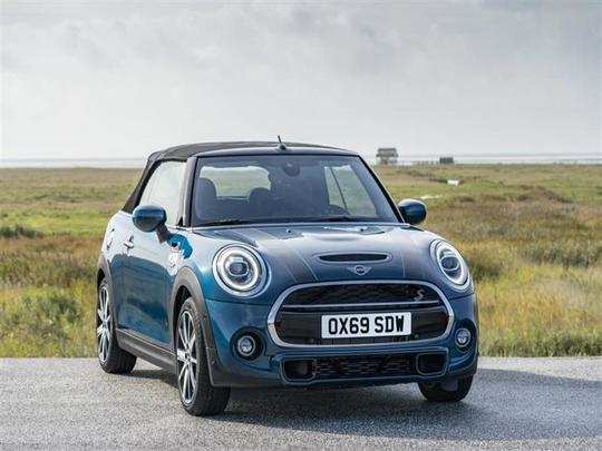 MINI Convertible Sidewalk Edition launched