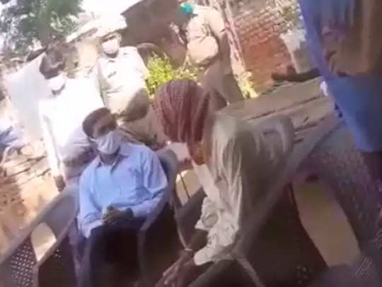 hathras dm video viral
