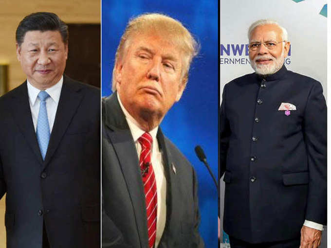 America supported India against China