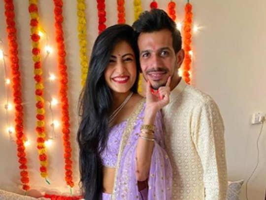 yuzvendra chahal with dhanashree