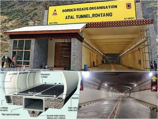 atal tunnel inauguration today by pm narendra modi: check map, route and distance from manali to leh