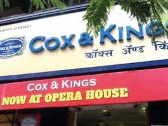 Cox & Kings अभी कॉरपोरेट इनसॉल्वेंसी रिजॉल्यूशन की प्रक्रिया से गुजर रही है।