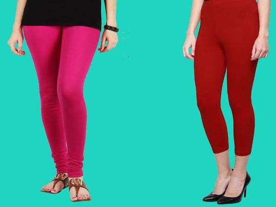 Womens Fashion : घर में पहनने के लिए मात्र 649 रुपए में Amazon से खरीदें सुपीरियर क्वालिटी की ये Women Leggings