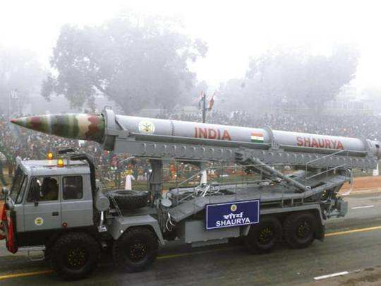 Shaurya missile test India: surface-to-surface nuclear-capable ballistic  missile successfully test-fired :