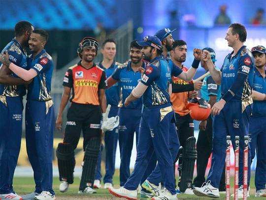 ipl 2020 mi beat srh by 34 runs highlights and important points