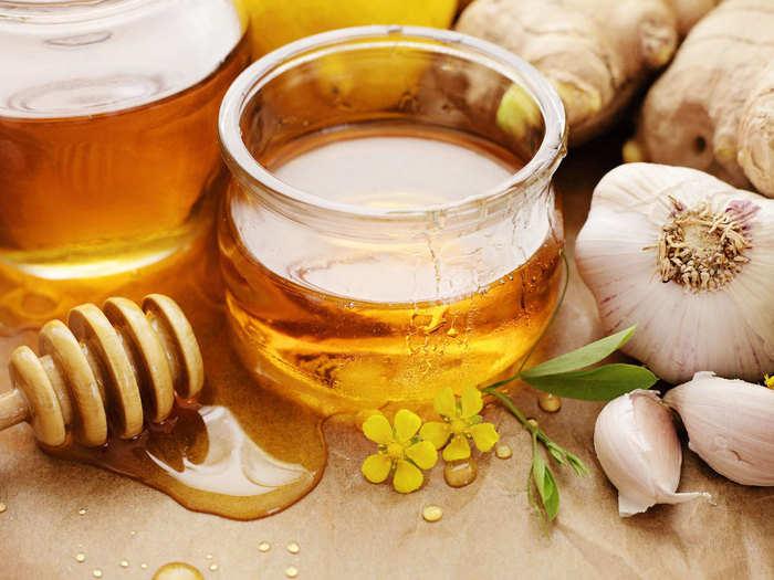 health benefits of honey and garlic mixture