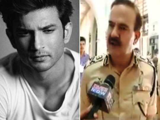 Sushant Death Case Mumbai Police commissioner