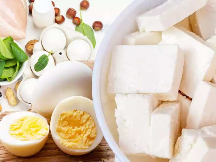 eggs or paneer which is a better source of protein in marathi