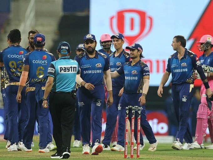IPL: राजस्थान को हराकर पॉइंट्स टेबल में टॉप पर मुंबई