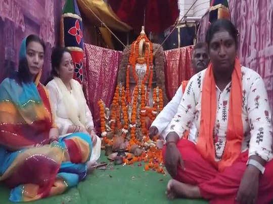 तमिलनाडु से आया राम मंदिर के लिए घंटा