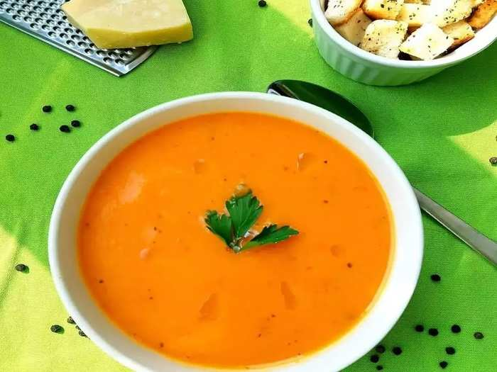 which is the best option for breakfast in soup and juice in marathi