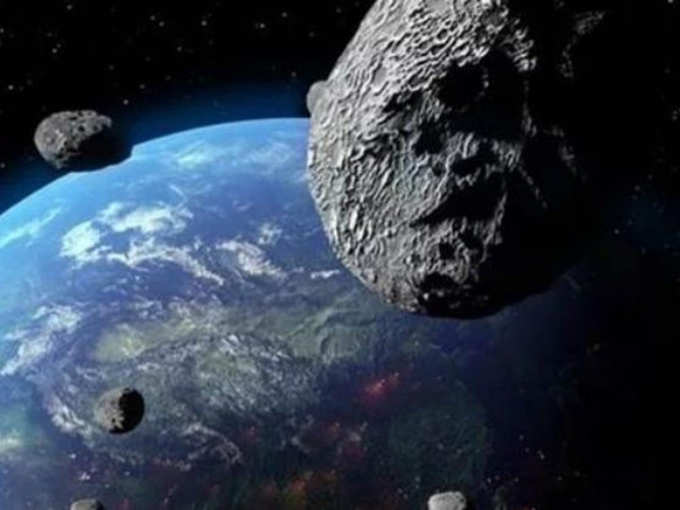 Asteroids will pass close to the earth