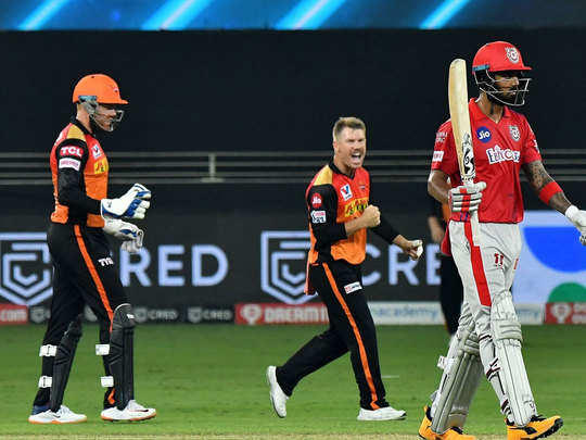 ipl 2020 sunrisers hyderabad vs kings xi punjab match highlights and talking points