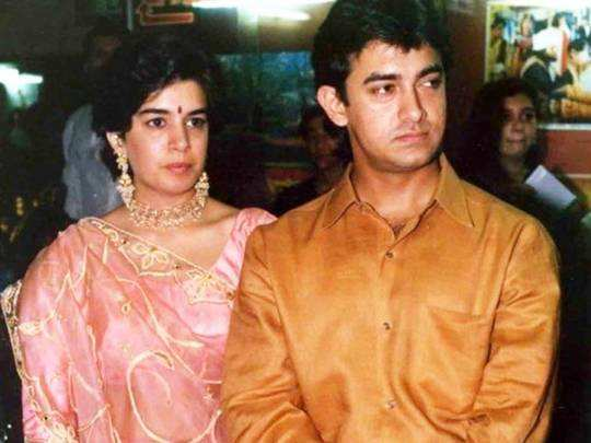 aamir khan on ex wife reena dutta traumatic divorce
