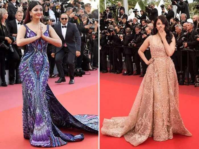 malaika arora and aishwarya rai bachchan wore stylish butterfly gown in marathi