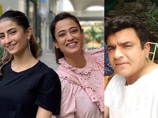 Raja Chaudhary Shares Daughter Palak Tiwari picture