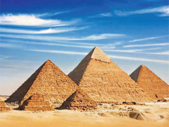 Search inside the pyramid (file photo)