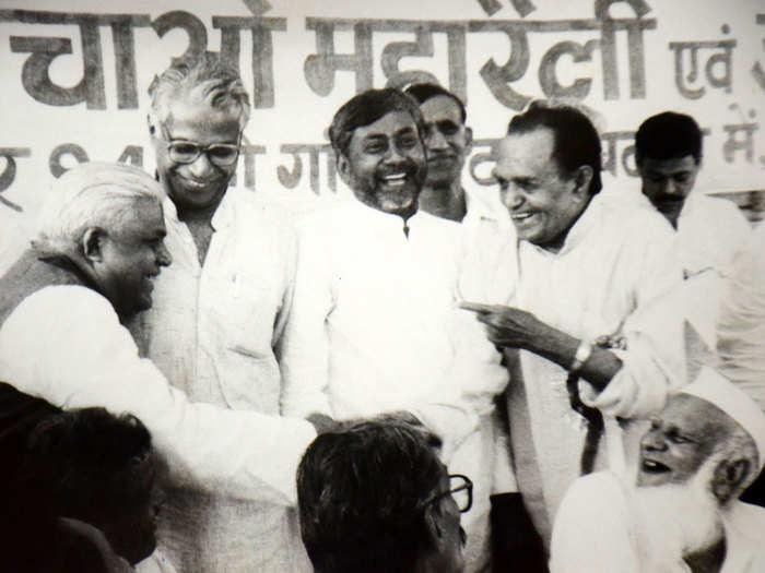 making of nitish kumar in historic kurmi chetna rally in gandhi maidan