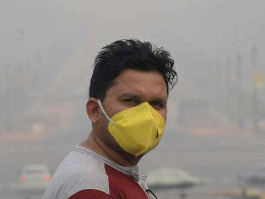 the most toxic air of the season was found in delhi-ncr on monday, danger of second wave of corona