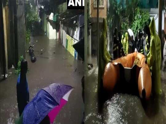 हैदराबाद में लगातार बारिश