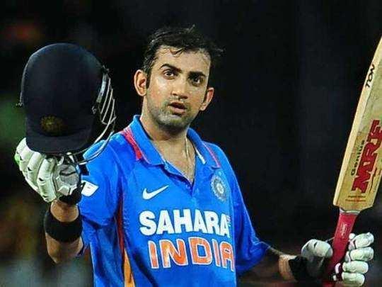 gautam gambhir birthday: हैपी बर्थडे गौतम गंभीर- युवराज ने पूछा, 'भाई केक  कहां है' - former indian cricketer gautam gambhir turns 39 sports persons  wish him well   Navbharat Times