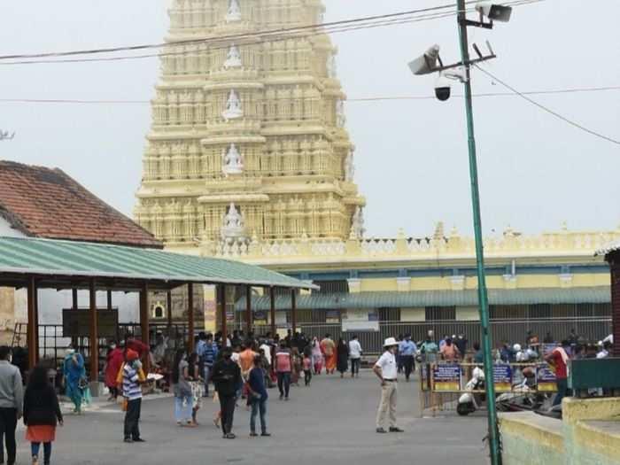 Sri Chamundeshwari temple atop Chamundi Hills will be closed for devotees during